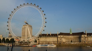 The London Eye...40 minutes to cycle with a great view of London.