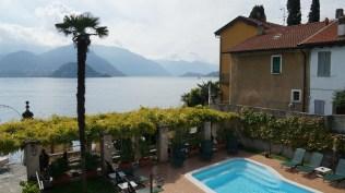 The pool by Lake Como