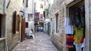 Polished stone streets