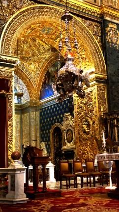 Side chapel detail