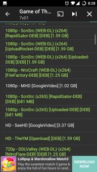 Terrarium TV steaming sources list