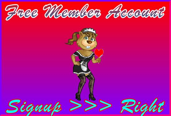 Kinky-Beaver Signup Right: Member Signup Area Navigation Support Banner