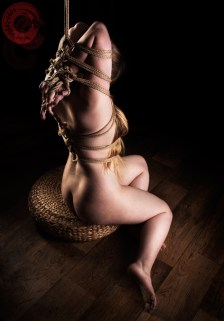 Bunny Tie featuring rope by WykD Dave and photography by Clover Brook