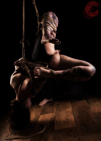 Kinabku with Sophia Rose tied by WykD Dave Photography by Clover Brook