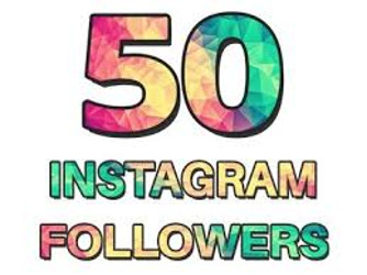 50 Instgram Followers