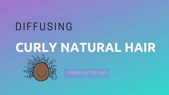 Diffusing Curly Natural Hair