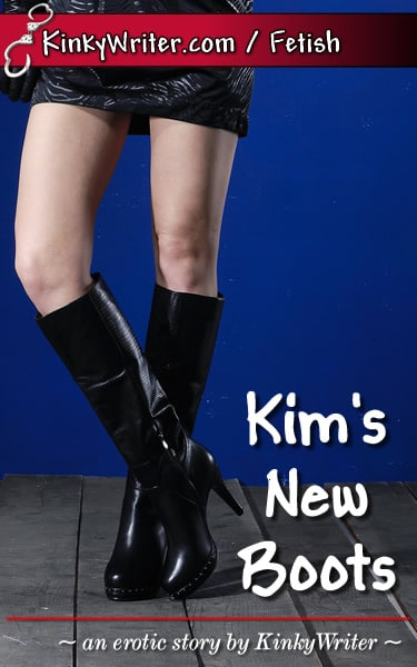 Book Cover for Kim's New Boots (by KinkyWriter)