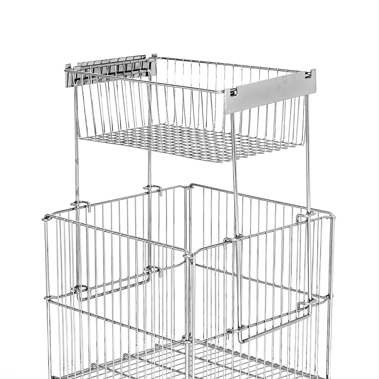 Topper Basket For Wire Dump Bin Chrome Gt 18
