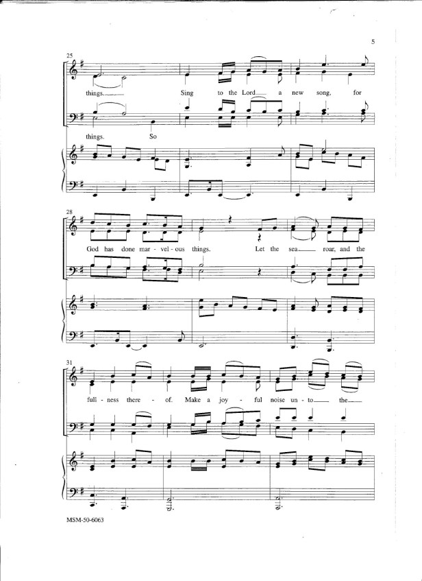 Sing to the Lord a New Song-4