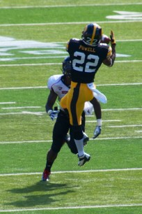 WR Damond Powell will have his biggest day yet as a Hawkeye with his SEC-like speed.