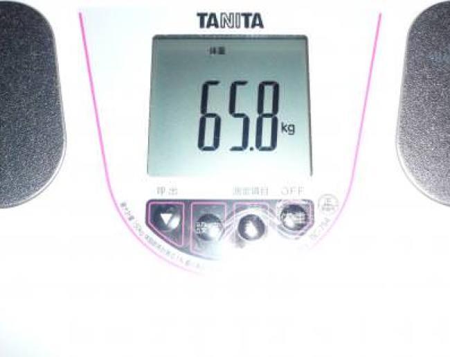 トマトジュースダイエット記録19日目の体重
