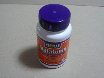 メラトニン3mgの写真