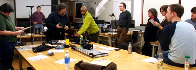 Documentary Video Boot Camp, January 2009, Photo by Anne Marie Stein