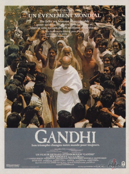 Image result for filmas Gandhi