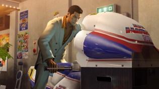 The SEGA arcades feature period appropriate arcade games, like Super Hangon