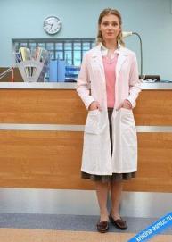 Истинно тургеневский образ скромницы в белом халате врача