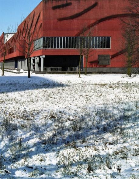Minnaert Gebouw, Utrecht Jan Neutelings architect. © Jerominus 2005