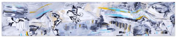 AABA (Le blanc guidant le peuple) © Prosper Jerominus, 2015