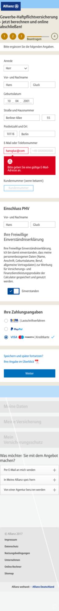 Allianz) 2 Clear x1