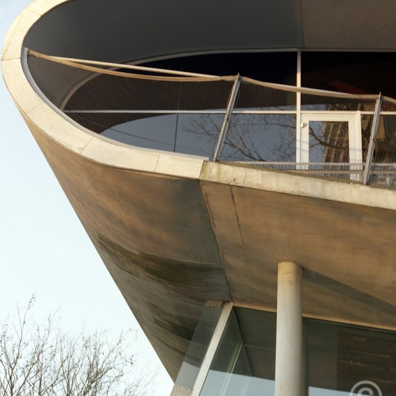 Educatorium building Uithof Utrecht profile