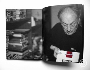 Book + DVD 'Fotografo a su pesar' © Arquia/ Documental 32 Fundacion Arquia, 2016 Graphic Design: CLA-SE, Claret Serrahima DVD: Film by Gerrit Messiaen 'Lucien Hervé, photographe malgré lui' Belgium, 2013, 54' © Atom Films, 2013 Credits: Photographs on pages: 60 and 68-69 by © Prosper Jerominus 1996
