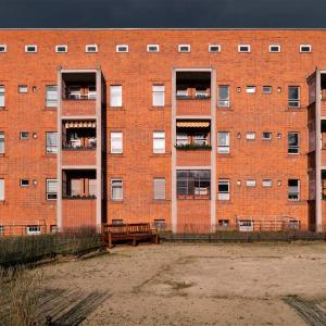 Unesco World Heritage - Siedlung Schillerpark Berlin Bruno Taut Hans Hoffman architects, 1924-59 © Prosper Jerominus 2018