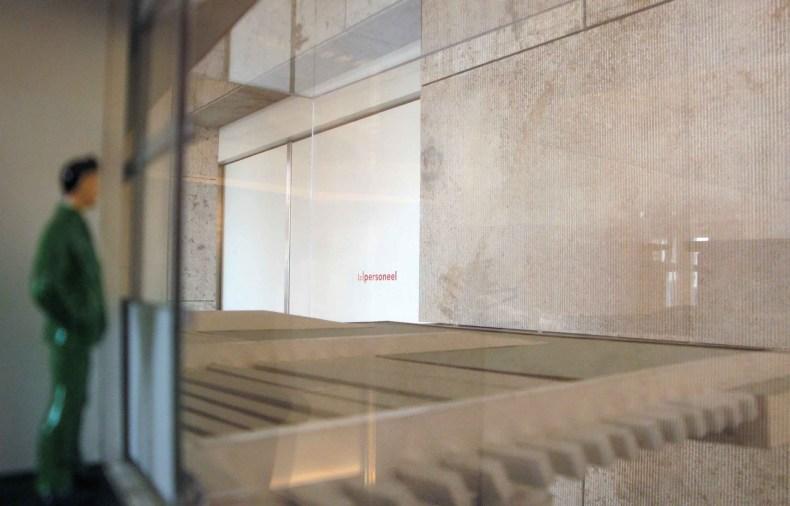 The Amsterdam Public Library Model view Jo Coenen architects, 2008 'International Architecture Award' © Prosper Jerominus 2010