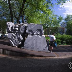 Levetzowstraße Deportation Memorial Berlin - Mahnmal-Levetzowstraße Stiftung Denkmal, 2010 © Prosper Jerominus 2018
