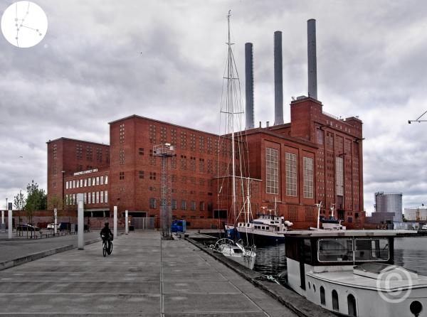 Nordhavn Copenhagen - Powerstation Svanemølleværket harbour © Prosper Jerominus 2018