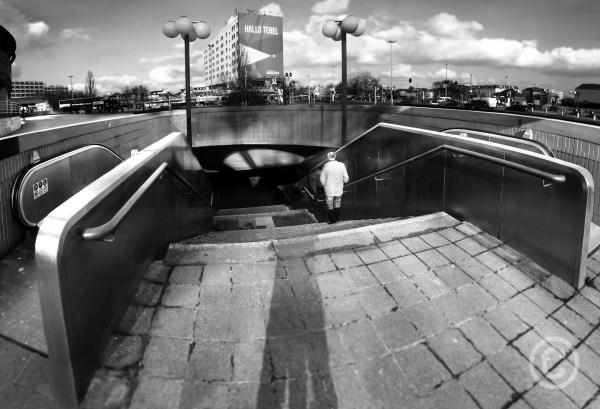 Hallo Tegel Hello Tegel -Station underpassMesse Nord/ICC Berlin © Prosper Jerominus 2018