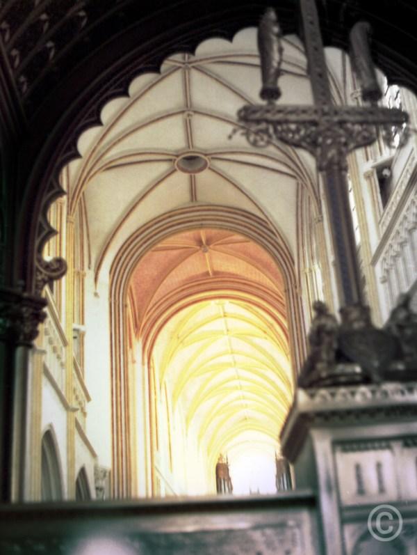 Left Penchant Cathedral of Saint Corentin of Quimper, Cournouaille, France © Prosper Jerominus 1999