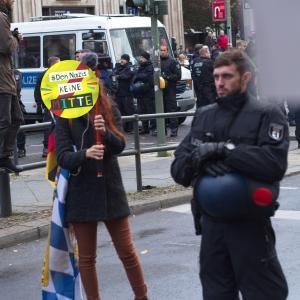 Speechless Provocation 2 - Berlin Against Far Right #DenNazisKEINEMITTE (No center fo Nazis)