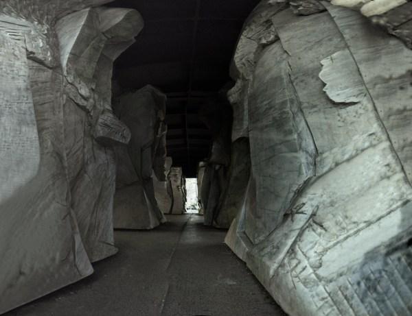 Deportation Memorial Berlin - Inside wagon