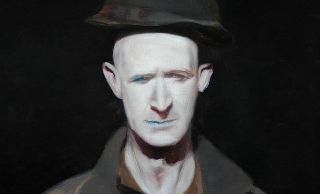 Eva Natland aka ronnie s painted by Alexander Tinei — with Alexander Tinei and ronnie s