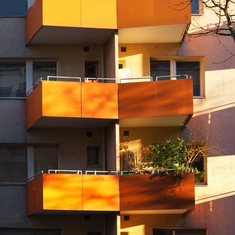 Orange paradise - in(-)sanity balcony