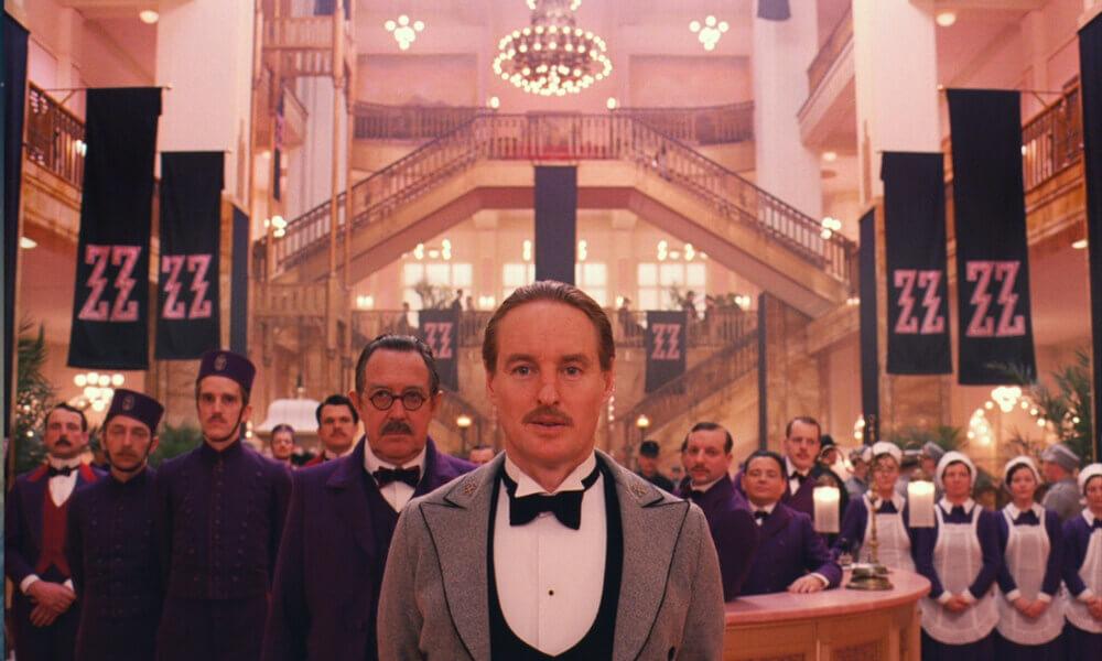 Niezwykłe pastelowe wnętrza filmu Grand Budapest Hotel