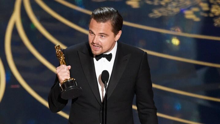 Leonardo DiCaprio ipierwszy Oscar
