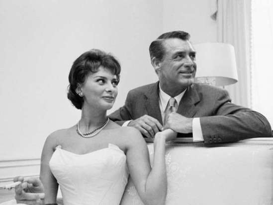 Cary Grant iSophia Loren