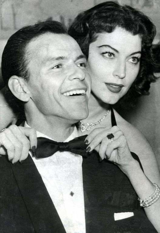 Frank Sinatra iAva Gardner