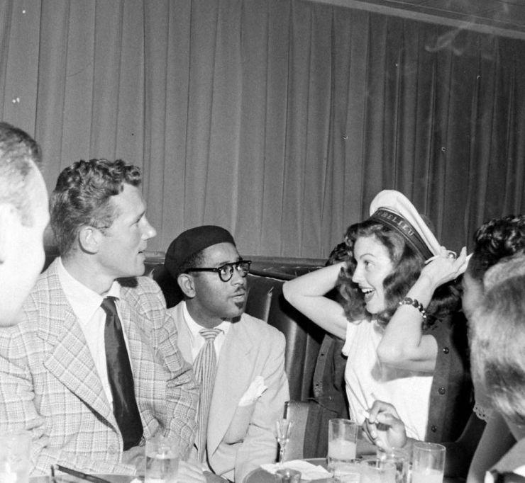 Dizzy Gillespie iAva Gardner. Allan Grant, 1948