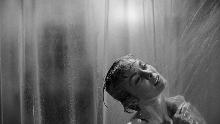 Psychoza - scena podprysznicem