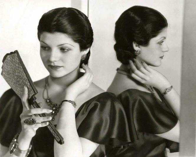 Młoda Rita Hayworth przedkarierą aktorską