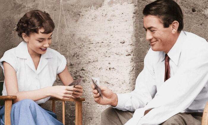 Stare filmy nawakacje - Audrey Hepburn Rzymskie wakacje