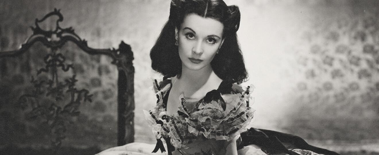 Vivien Leigh jako Scarlett O'Hara