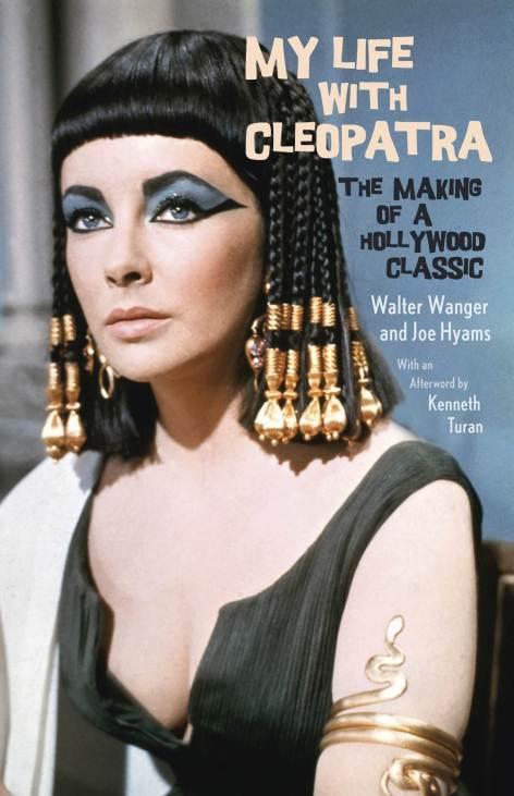 """Okładka książki """"My life with Cleopatra Waltera Wangera"""