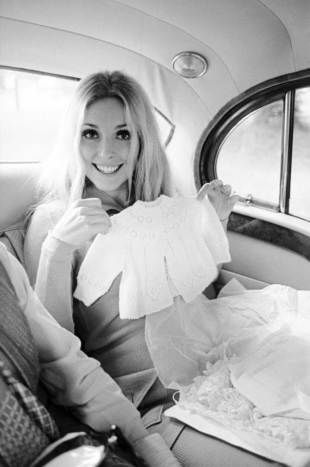 Jedno zostatnich zdjęć Sharon Tate, rok 1969