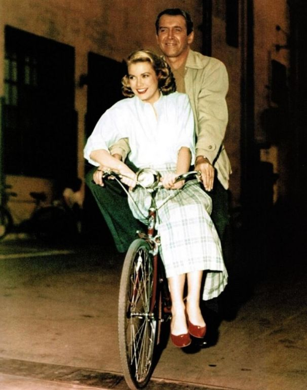 Grace Kelly i James Stewart
