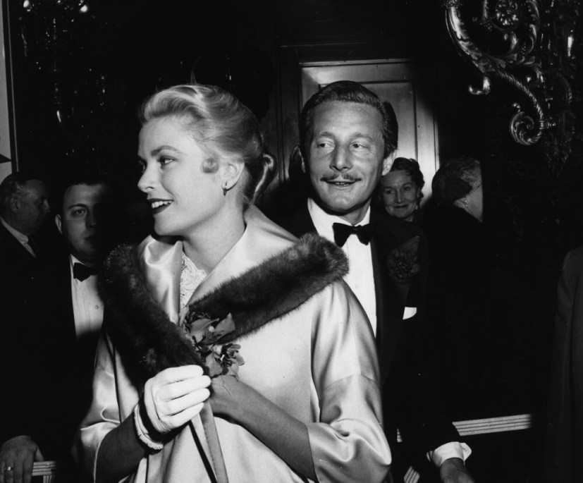 Grace Kelly i Oleg Cassini