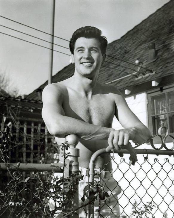 Młody Rock Hudson - końcówka lat 40