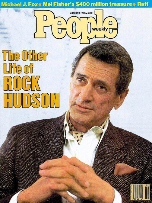 Rock Hudson nałamach People opowiada oAIDS